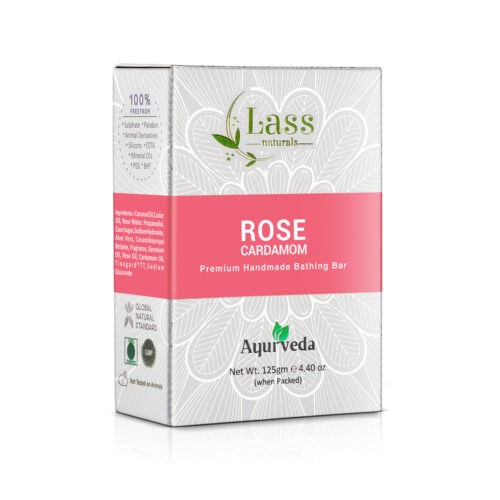 Rose Cardamom Handmade Premium Bathing Soap