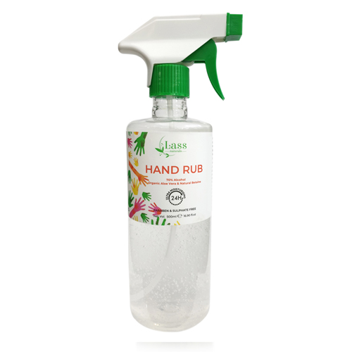 70% Alcohol Based Hand Rub Hand Sanitizer- 24H Ultra Moisturising