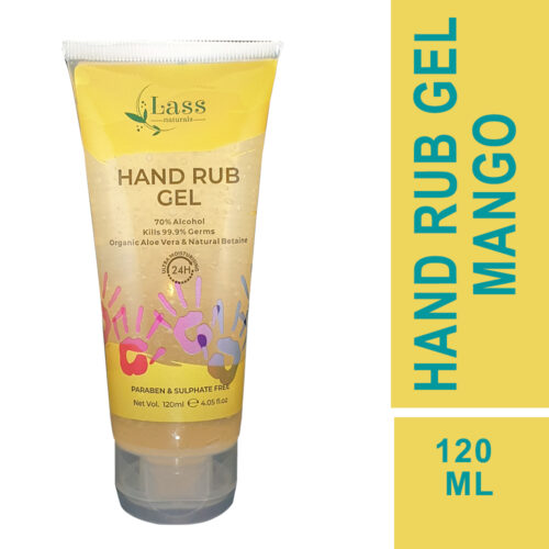 Sanitize Hand Rub Gel 70% Alcohol Based Sanitizer (Mango) 120ml