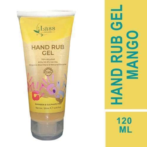Sanitize Hand Rub Gel 70% Alcohol Based Sanitizer (Mango) 120ml