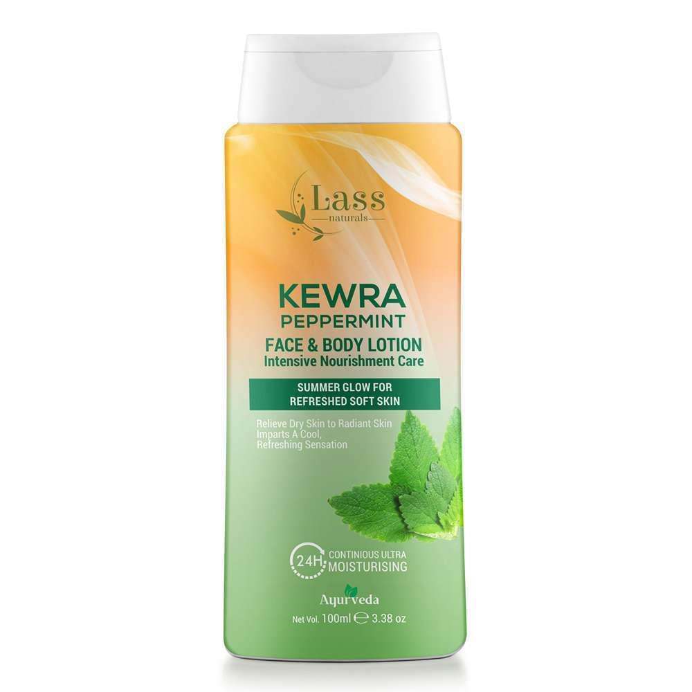 Kewra Peppermint Face & Body Lotion