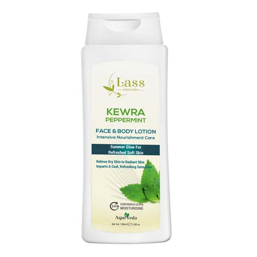 Kewra Peppermint 24 Hr Moisturising Face & Body Lotion-100 ml