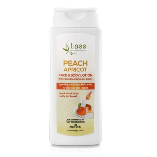 Peach Apricot 24 HR Moisturising Face & Body Lotion- 100 ml